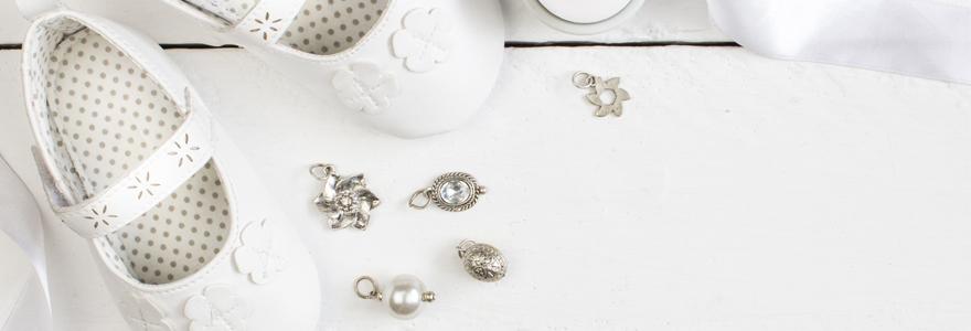 bijoux en argent naissance