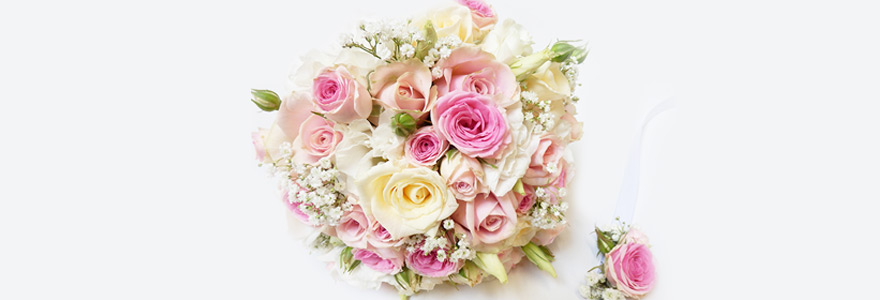Bouquet de fleurs ronds