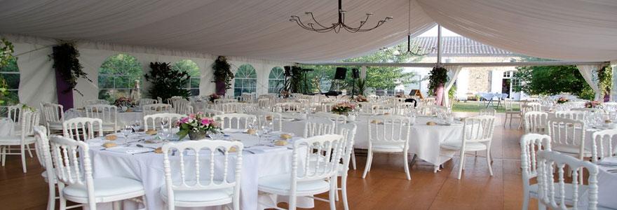 location de chapiteau de mariage